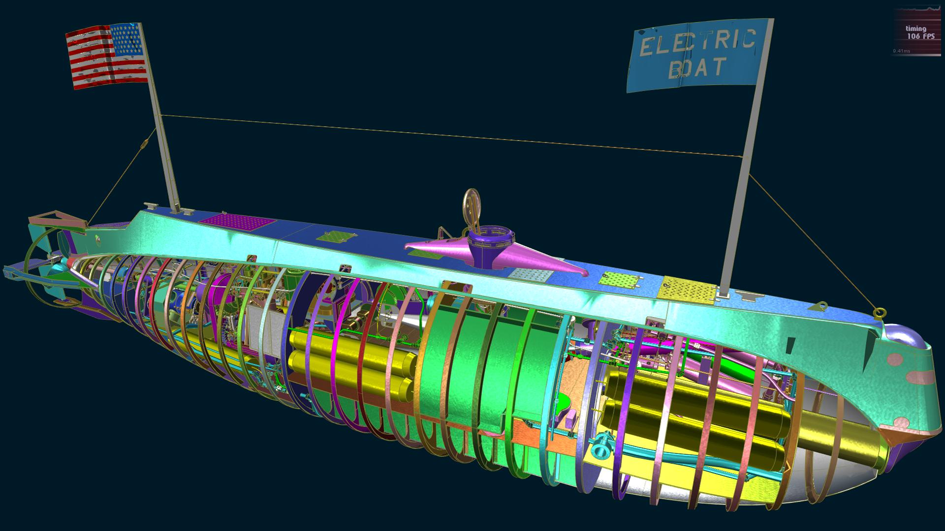 Vulkan Submarine