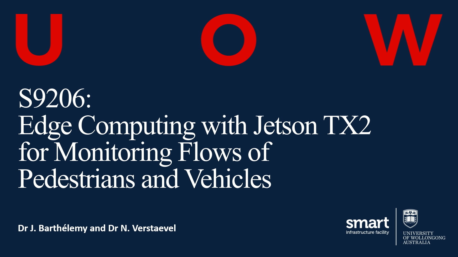 GTC Silicon Valley-2019: Edge Computing with Jetson TX2 for