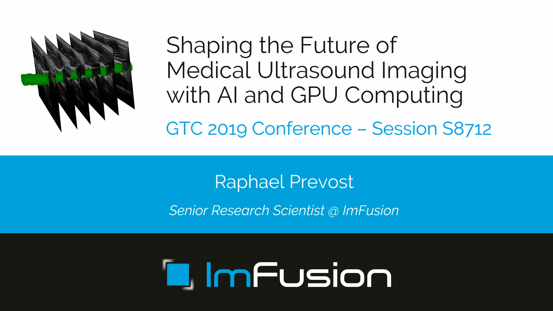 GTC Silicon Valley-2019: Shaping the Future of Medical
