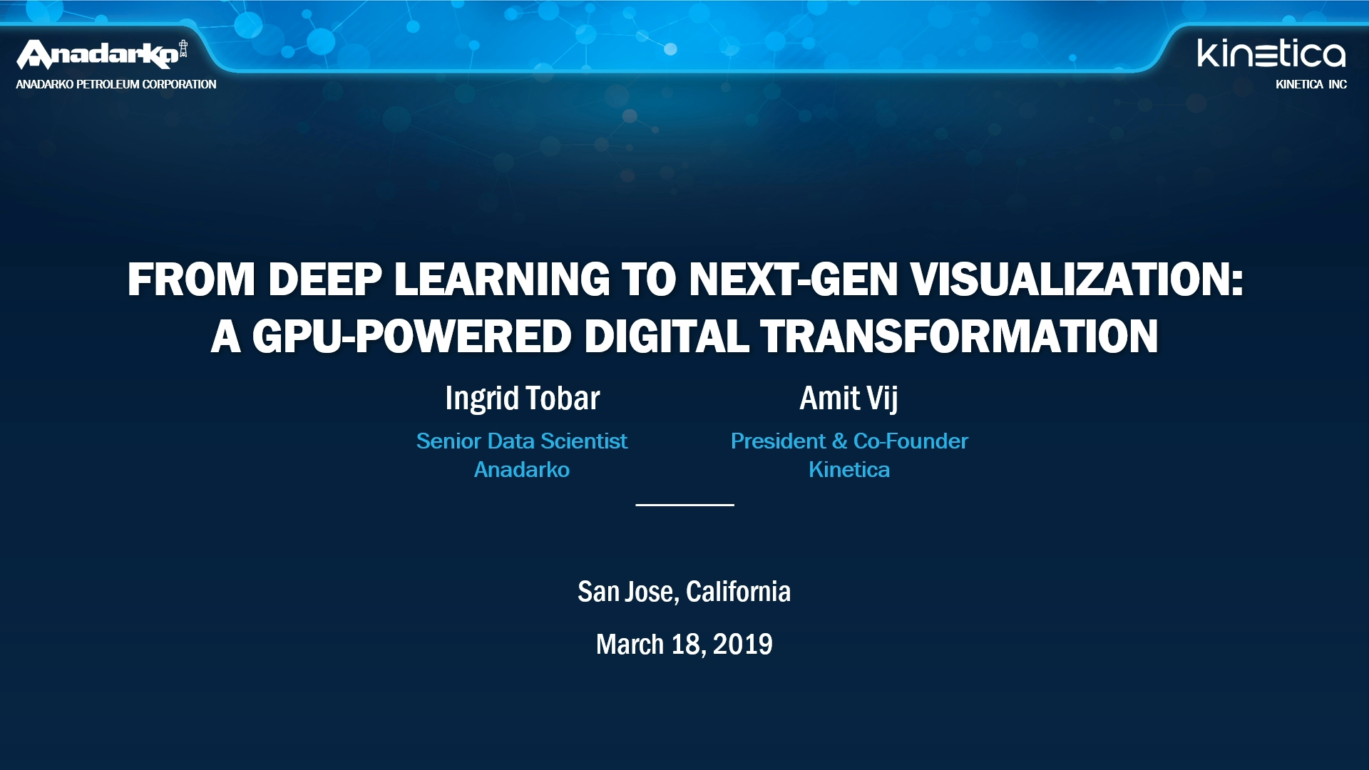 GTC Silicon Valley-2019: From Deep Learning to Next-Gen